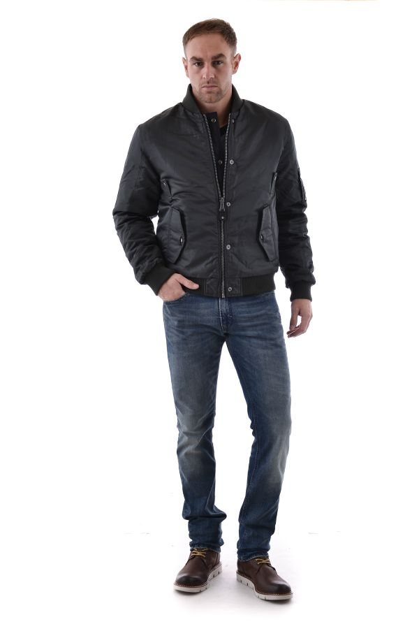 Herren Jacke Redskins HUNTER ELDORADO KAKI BLACK