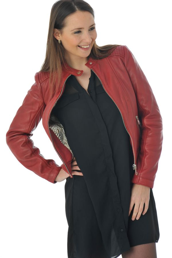 Blouson Femme Redskins THEORY COBRA HOT RED P16 ZZ