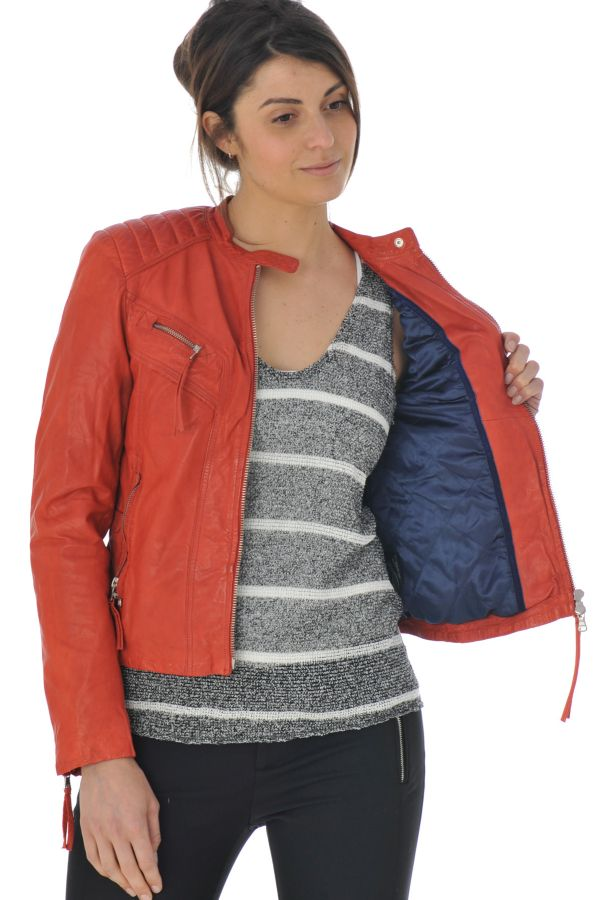 Blouson Femme Redskins LOUNEW GLASGOW RED H15