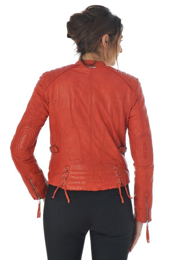 Blouson Femme Redskins LOUNEW GLASGOW RED H15