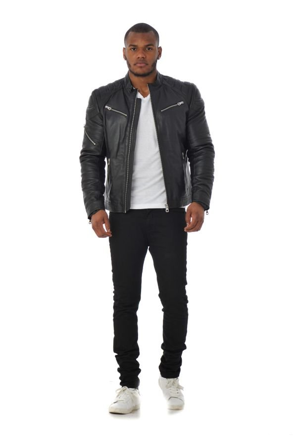 Biber Black Redskins Blouson Flash Homme fw1qxtOg