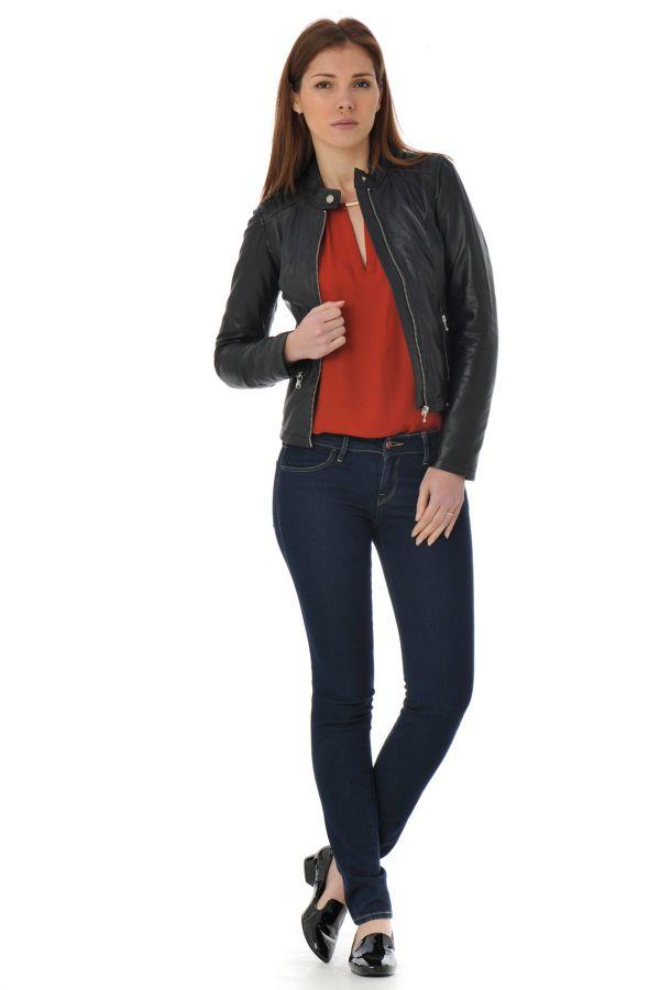 Blouson Femme Redskins SUDDIE BIBER BLACK P16