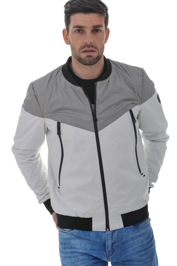 Blouson Homme Redskins CROSS VENEZUELA WHITE GREY P16