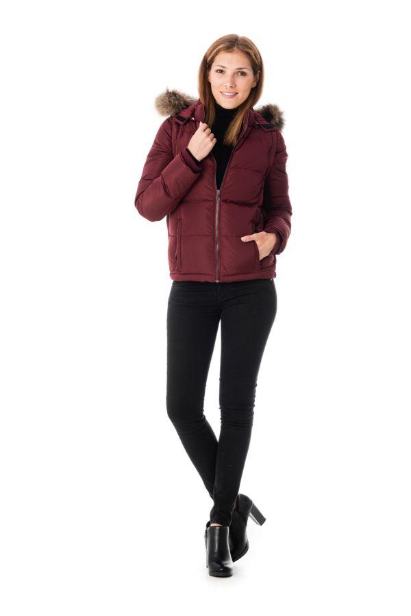 Blouson Femme Redskins CLARYSSE CAMPBELL PLUM H16