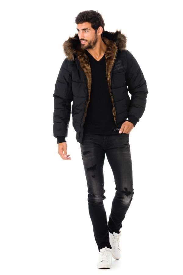Blouson Homme Redskins WALLAS 4 OSLO BLACK