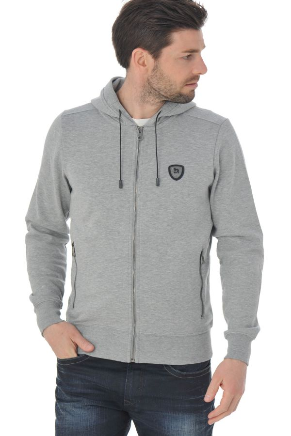 Pull/Sweatshirt Homme Redskins TAURIN AIRY GREY CHINE