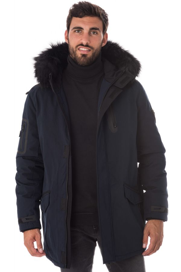 Blouson Homme Redskins DUSTER HOMELAND DARK NAVY H16