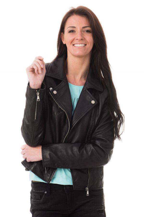 Blouson Femme Redskins BRIDGET RIVOLI BLACK P17