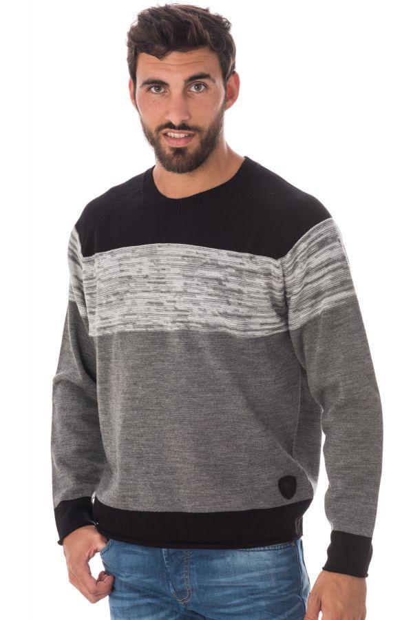 Pull/sweatshirt Homme Redskins TITAN INITIAL GREY CHINE H16