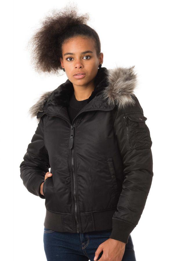 Blouson Femme Schott JKTPEARLWX BLACK