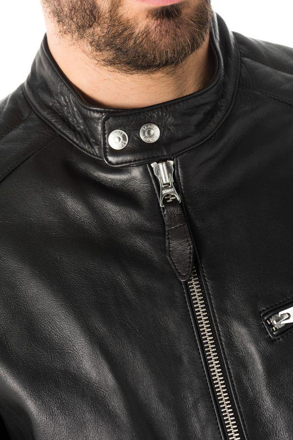 Blouson Homme Schott LCBREAK BLACK