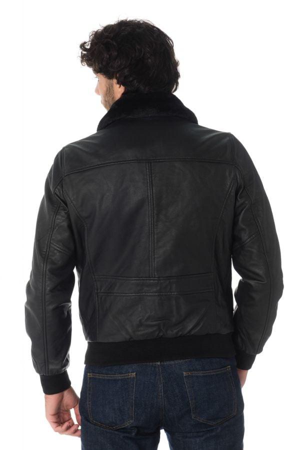 Blouson Homme Schott LCTOPGUN BLACK