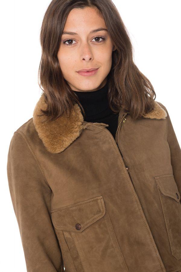 Blouson Femme Schott LCW2030S BROWN