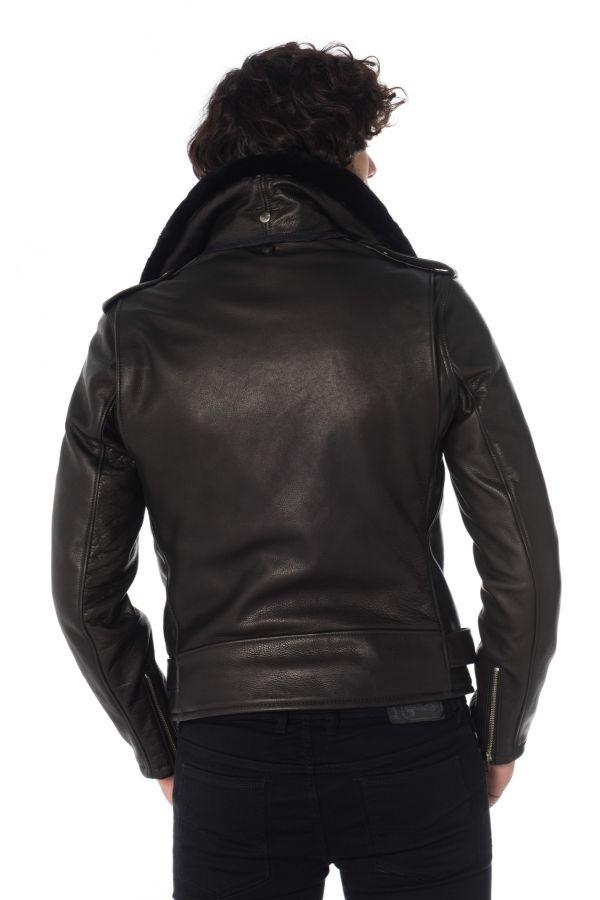 Blouson Homme Schott PER90 BLACK