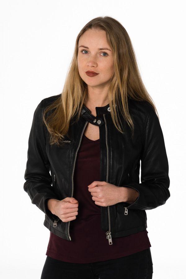 Blouson Femme Schott LCW9641A BLACK