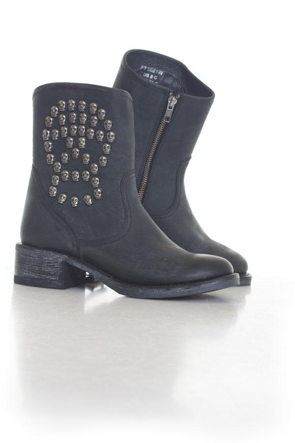 Boots / bottes Femme Schott FT1661W BLACK