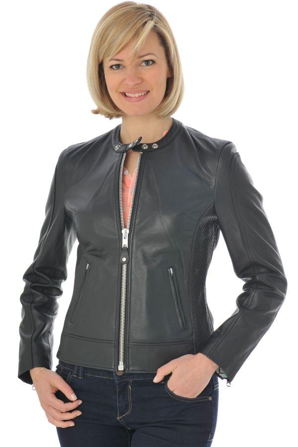 Blouson Femme Schott LCW8655B BLACK