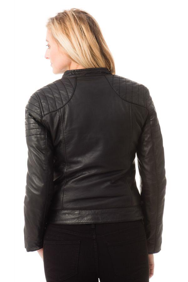 Blouson Femme Schott LCWHARVEY BLACK