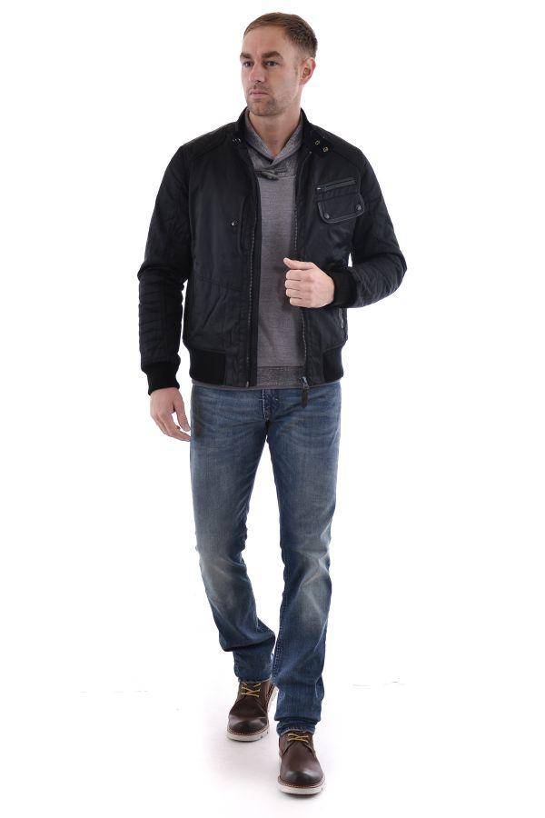 Blouson Homme Schott SCOTT BLACK