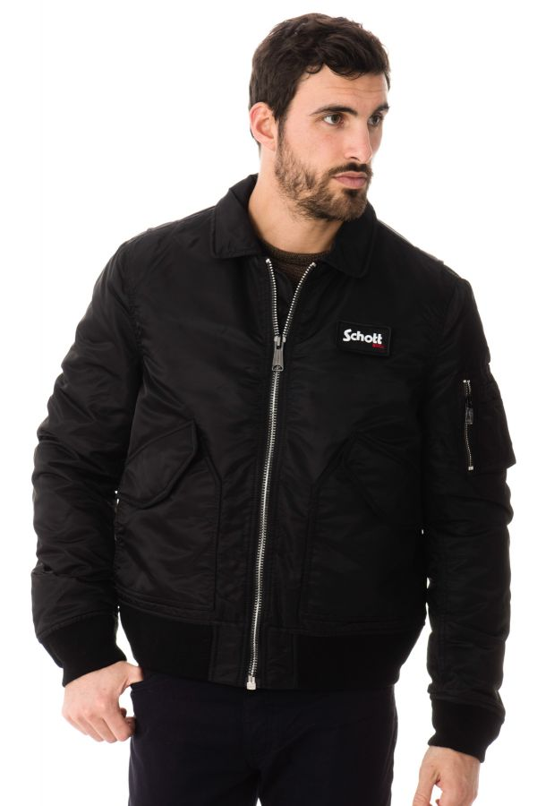 Blouson Homme Schott 210100 BLACK