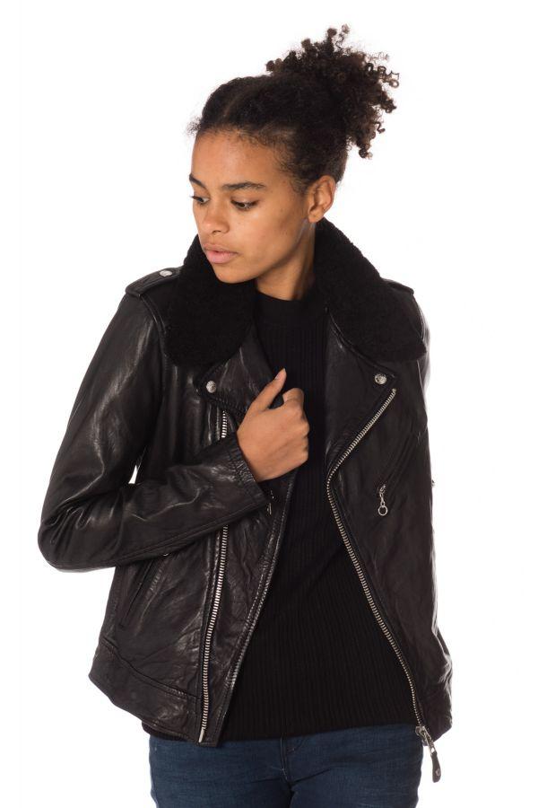 Blouson Femme Schott LCW2607 BLACK