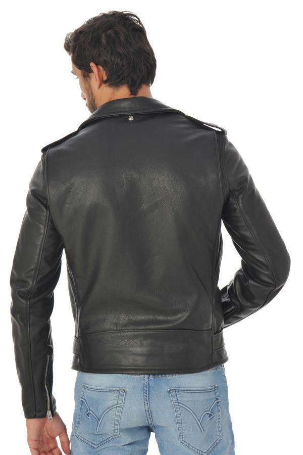 Blouson Homme Schott 519 BLACK