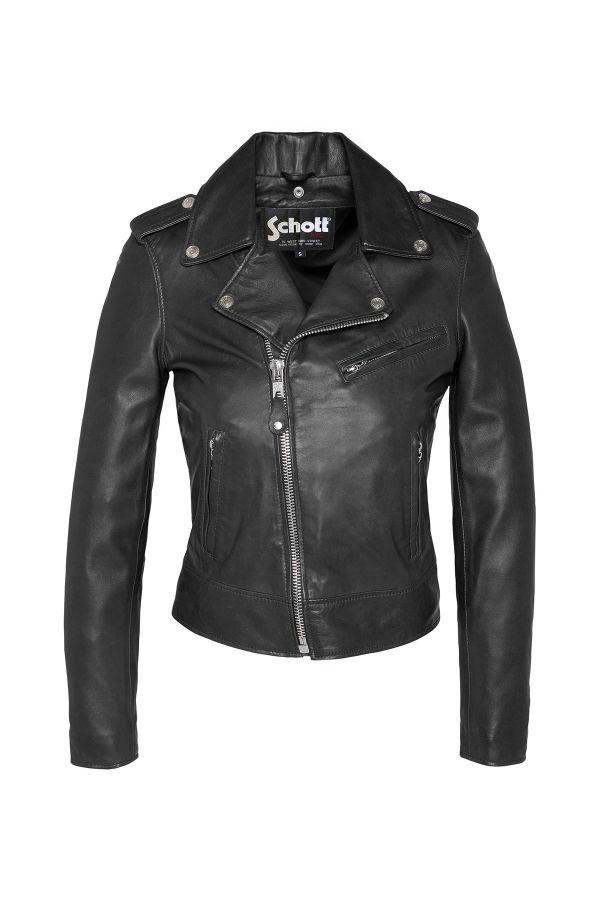 Blouson Femme Schott LCW1601D BLACK