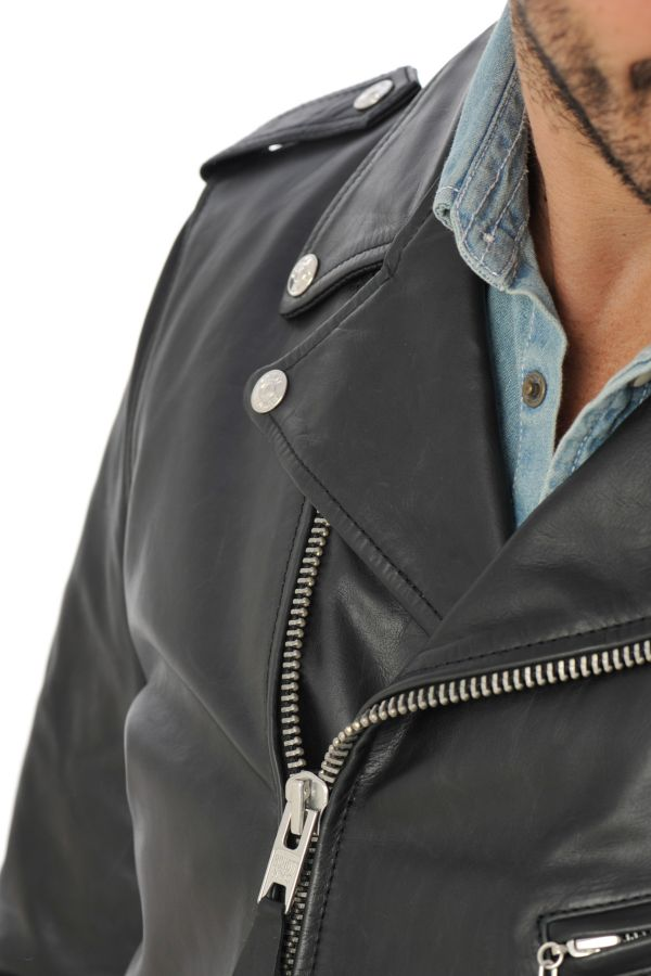 Blouson Homme Schott LC1140ICON BLACK X