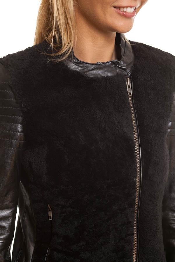 Blouson Femme Segura FAUVE BLACK