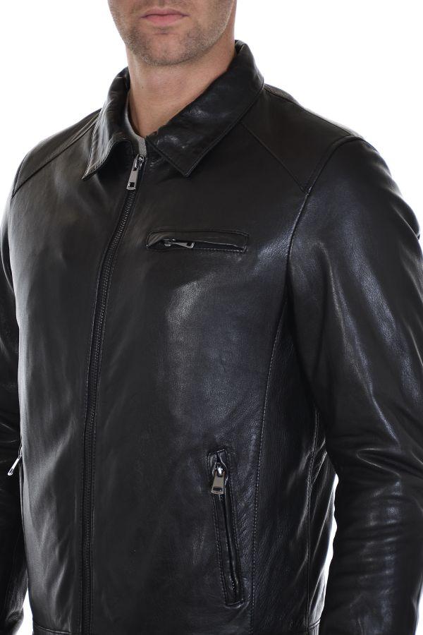 Blouson Homme Serge Pariente CLASSICO BLACK