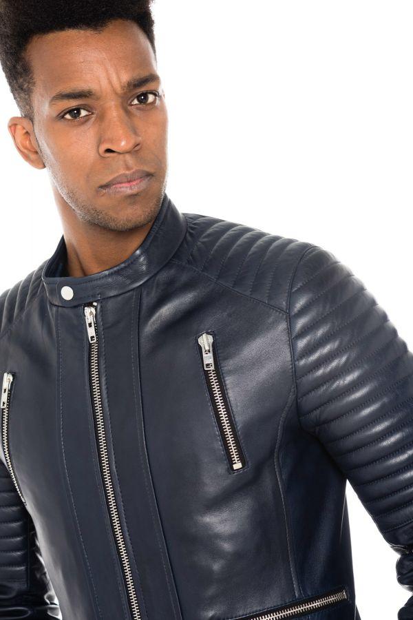 Blouson Homme Serge Pariente NEW LUX NAVY
