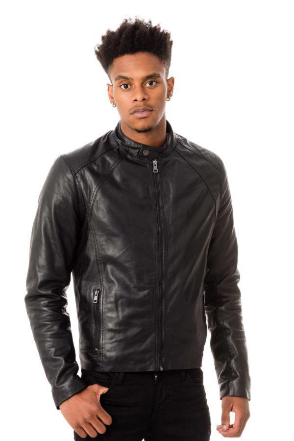 Blouson Homme Serge Pariente LENI AG BLACK