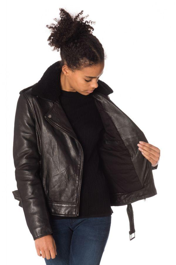 Blouson Femme Serge Pariente ROCK GIRL BLACK COL NOIR