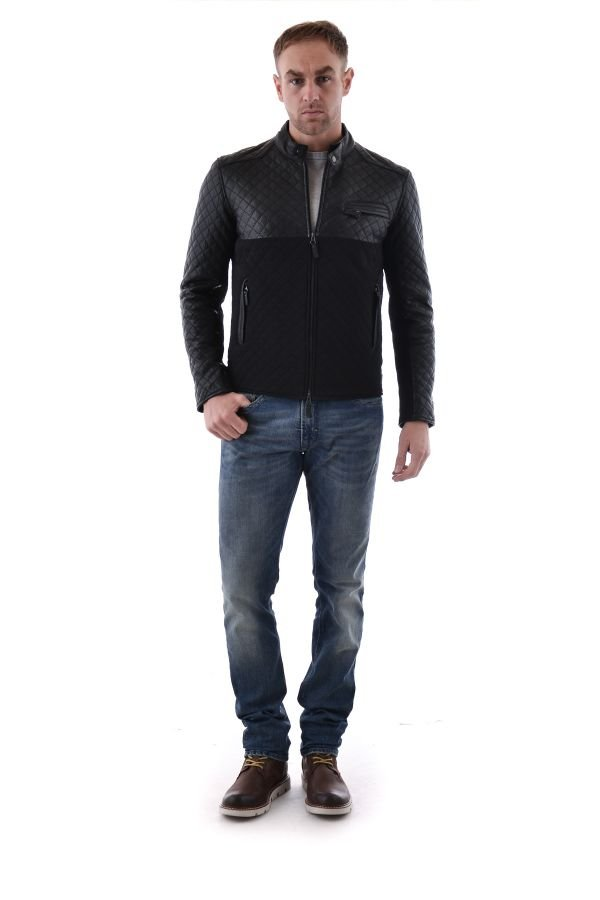 Blouson Homme Serge Pariente TOP MAN NEO BLACK