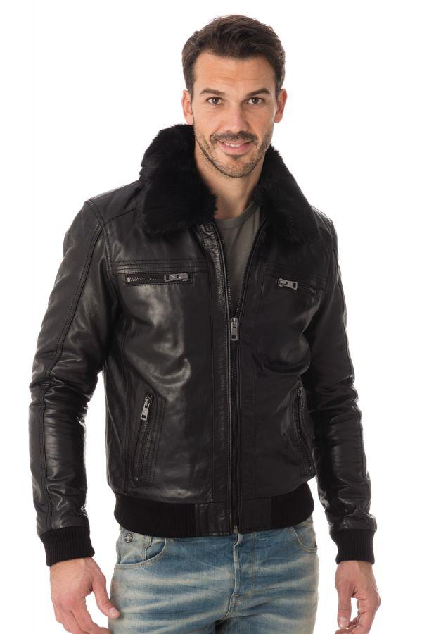 Blouson Homme Serge Pariente ICON BLACK H16