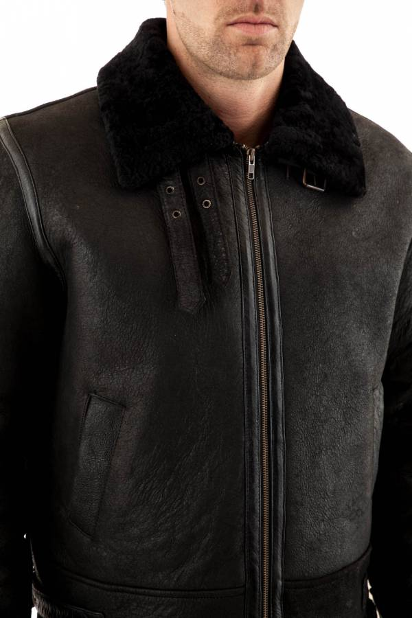 Blouson Homme Serge Pariente 19200 BLACK ZZ