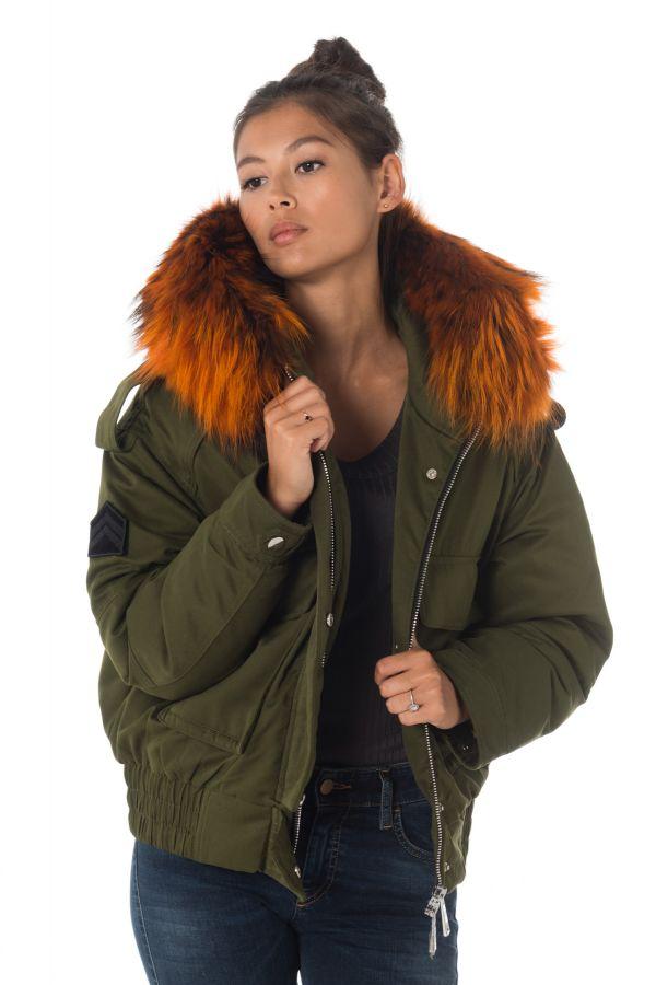 Blouson Femme The New Designers LENA KAKI