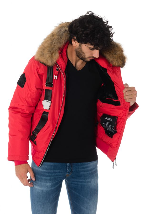 Blouson Homme The New Designers PILOT RED