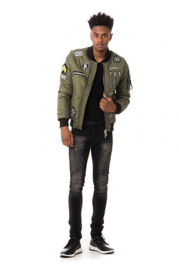 Blouson Homme The New Designers COOPER KAKI