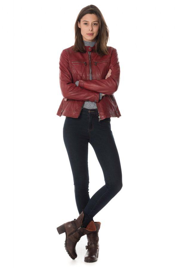 Blouson Femme deercraft EVENY SNWV OX RED
