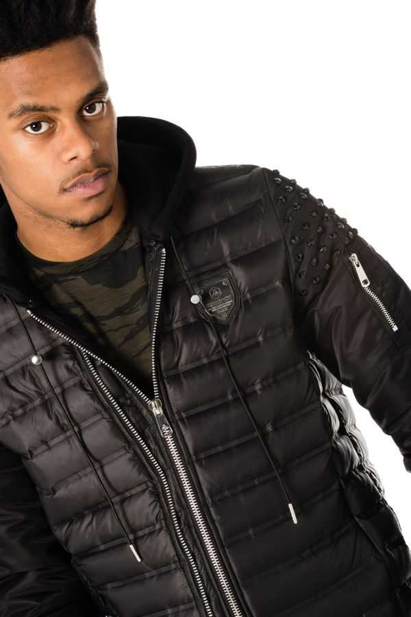 Blouson Homme Horspist POWELL BLACK BLACK
