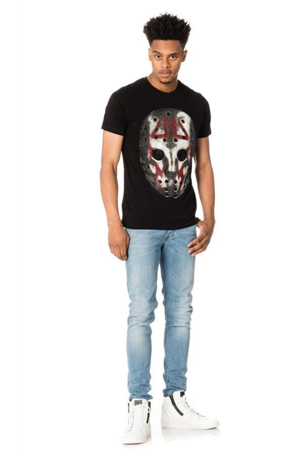 Tee Shirt Homme Horspist MARIOTT M500 BLACK