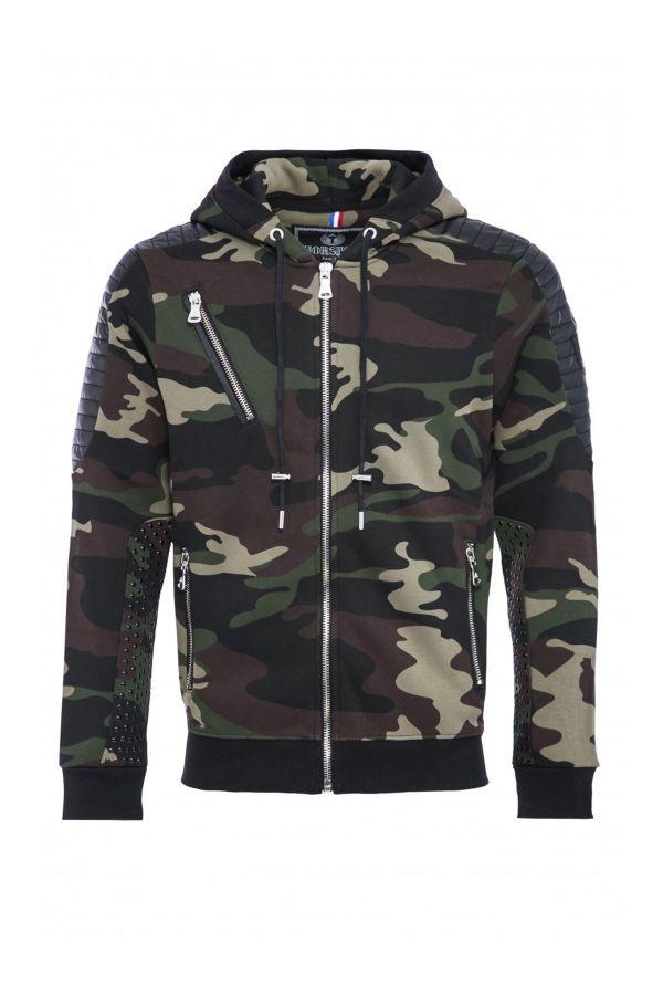 Pull/sweatshirt Homme Horspist TOMAS M301 CAMOU KHAKI