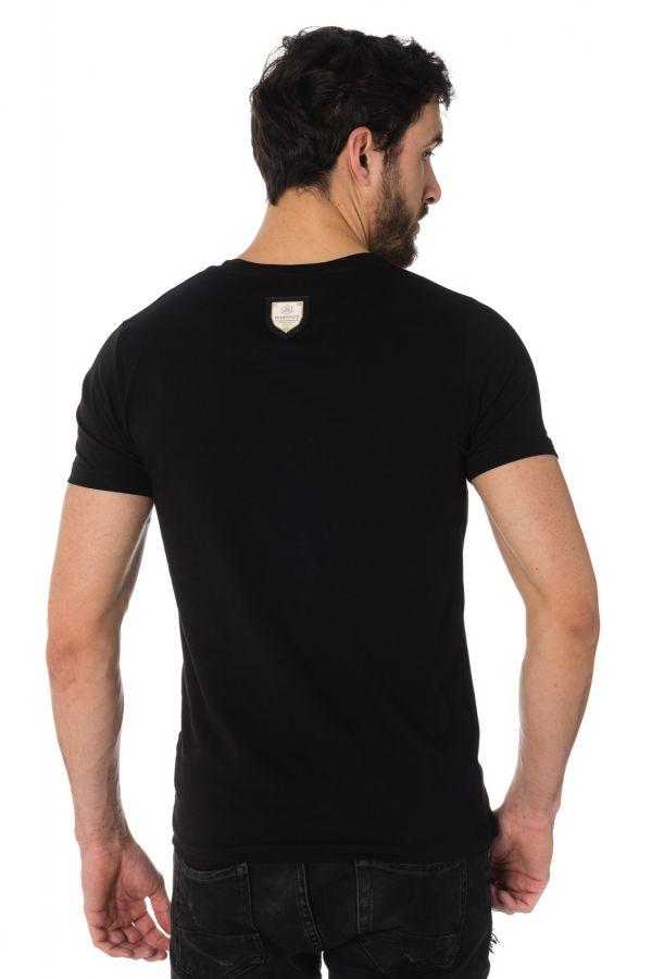 Tee Shirt Homme Horspist JORDAN M500 BLACK/RED