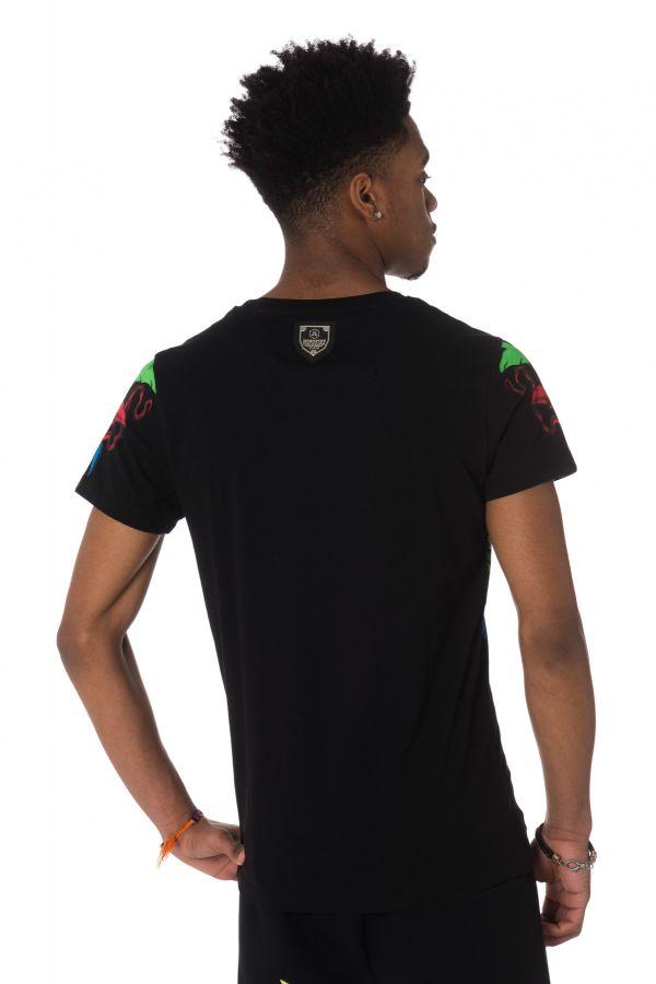 Tee Shirt Homme Horspist INDIAN M520 BLACK
