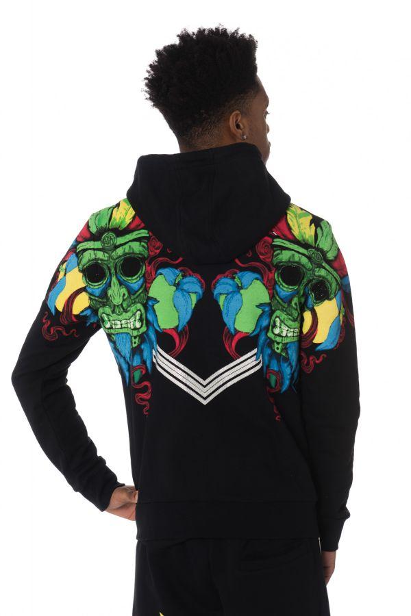 Pull/sweatshirt Homme Horspist AFRO M307 BLACK