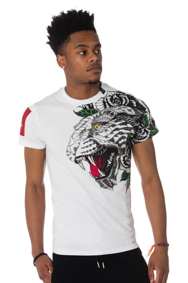 Tee Shirt Homme Horspist GUETTA M520 WHITE