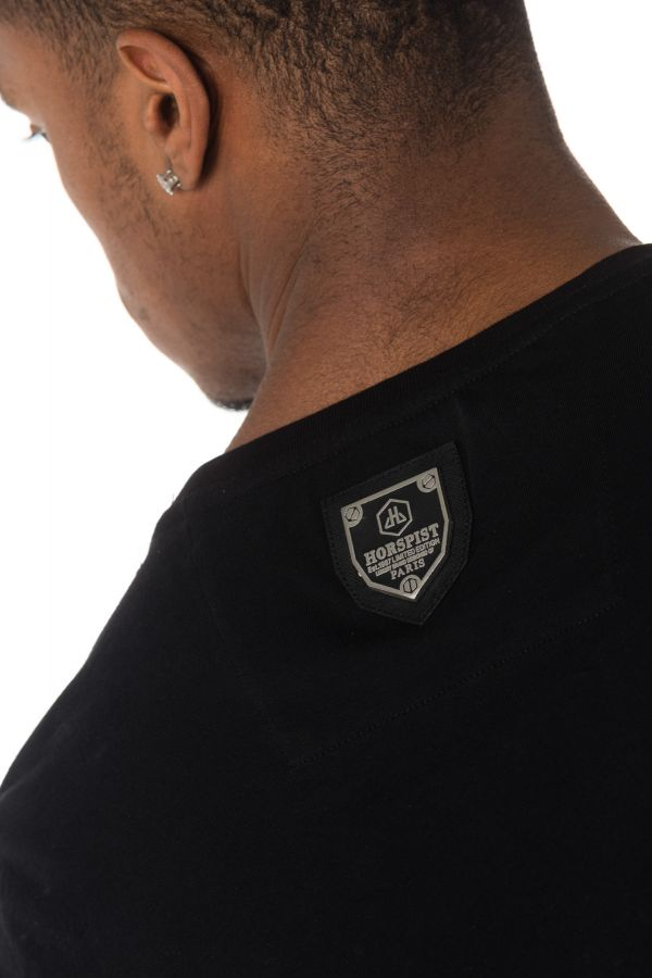 Tee Shirt Homme Horspist DESS M520 BLACK