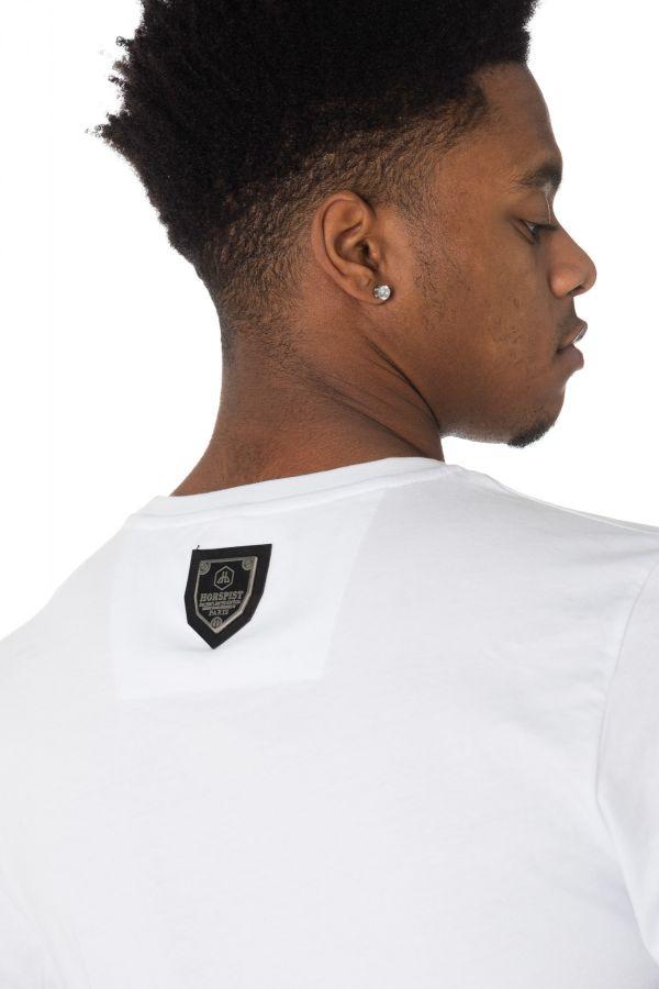 Tee Shirt Homme Horspist JECKYLL M520 WHITE