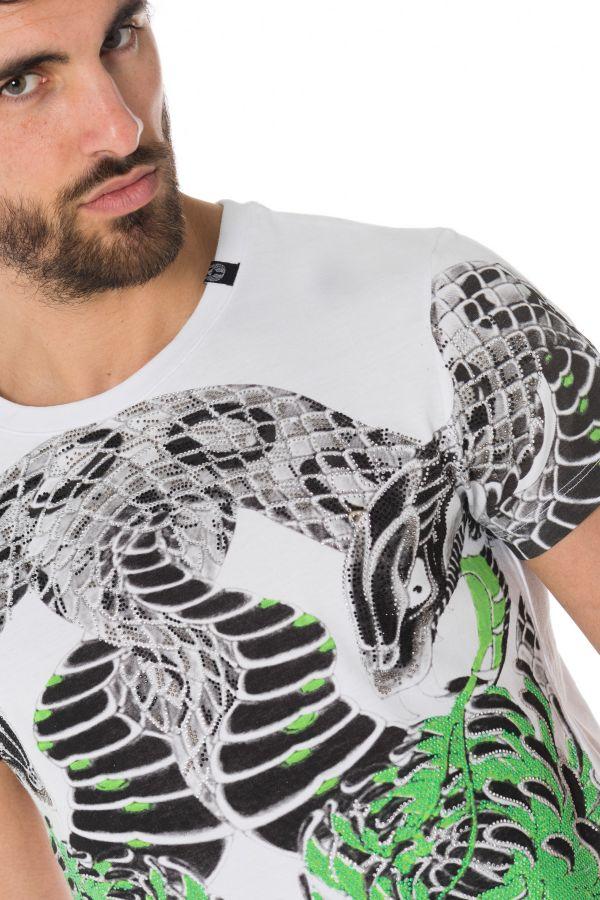 Tee Shirt Homme Horspist DESS M520 WHITE